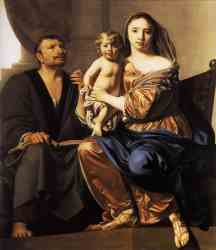The Holy Family - 1660