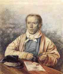 Portrait Of A. I. Fedotov - The Artist-s Father - 1837