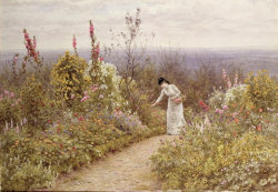 A Garden In October - Aldworth - 1891